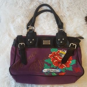 Ed Hardy Christian Audigier forever bling purse